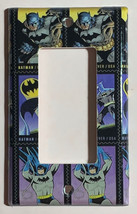 Batman Comics USPS Stamps Light Switch Power Outlet Wall Cover Plate Home decor image 3