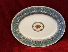 "Wedgwood Florentine TURQUOISE 14 1/8"" Serving Platter - $68.30"