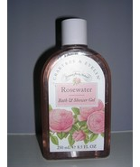 Crabtree & Evelyn ROSEWATER Bath & Shower Gel 8.5 oz / 250 ml NWOB - $18.81