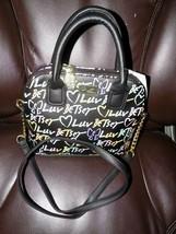 Luv Betsey Johnson Darcy Rainbow Crossbody Satchel Handbag Purse NEW - $70.40