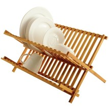Kitchen Dish Rack, Small Folding Home Basics 2 Tier Dish Rack And Draine... - €34,12 EUR