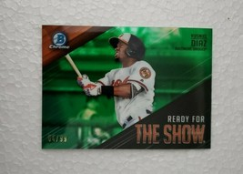 2019 Bowman Chrome Ready for the Show Green Refractors #RFTS13 Yusniel D... - $19.80