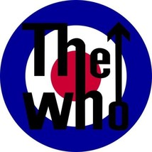 Mod composite laminated circular wall plaque 25cm The Who Kinks Small Faces - $32.00