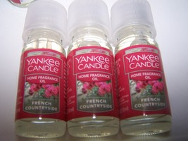 Lot of 3 Yankee Candle French Countryside Home Fragrance Oil 0.33 fl oz ... - $25.99