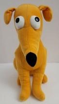 "Santa's Little Helper 15"" Greyhound Dog Plush Simpsons Universal Studios Stuffed - $18.52"
