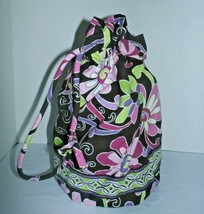 VERA BRADLEY Ditty Bag Purple Punch Excellent Preowned  - £15.45 GBP