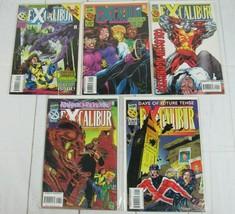 Excalibur #90-94 Lot of 5 comics 1995 Marvel Comics - C5049 - £6.42 GBP