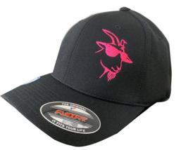 Pink B.J. The Goat Flexfit Hat (L/XL) - $24.99