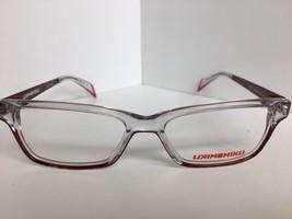New Mikli By Alain Mikli ML1225 Ml 1225 c01V Clear Red Eyeglasses - $119.99