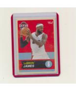 2011-12 Past & Present  #40 Lebron James - $6.00