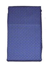 2 Ralph Lauren Mini White Polka Dots on Blue KING Pillowcases NIP HTF Color - $46.99