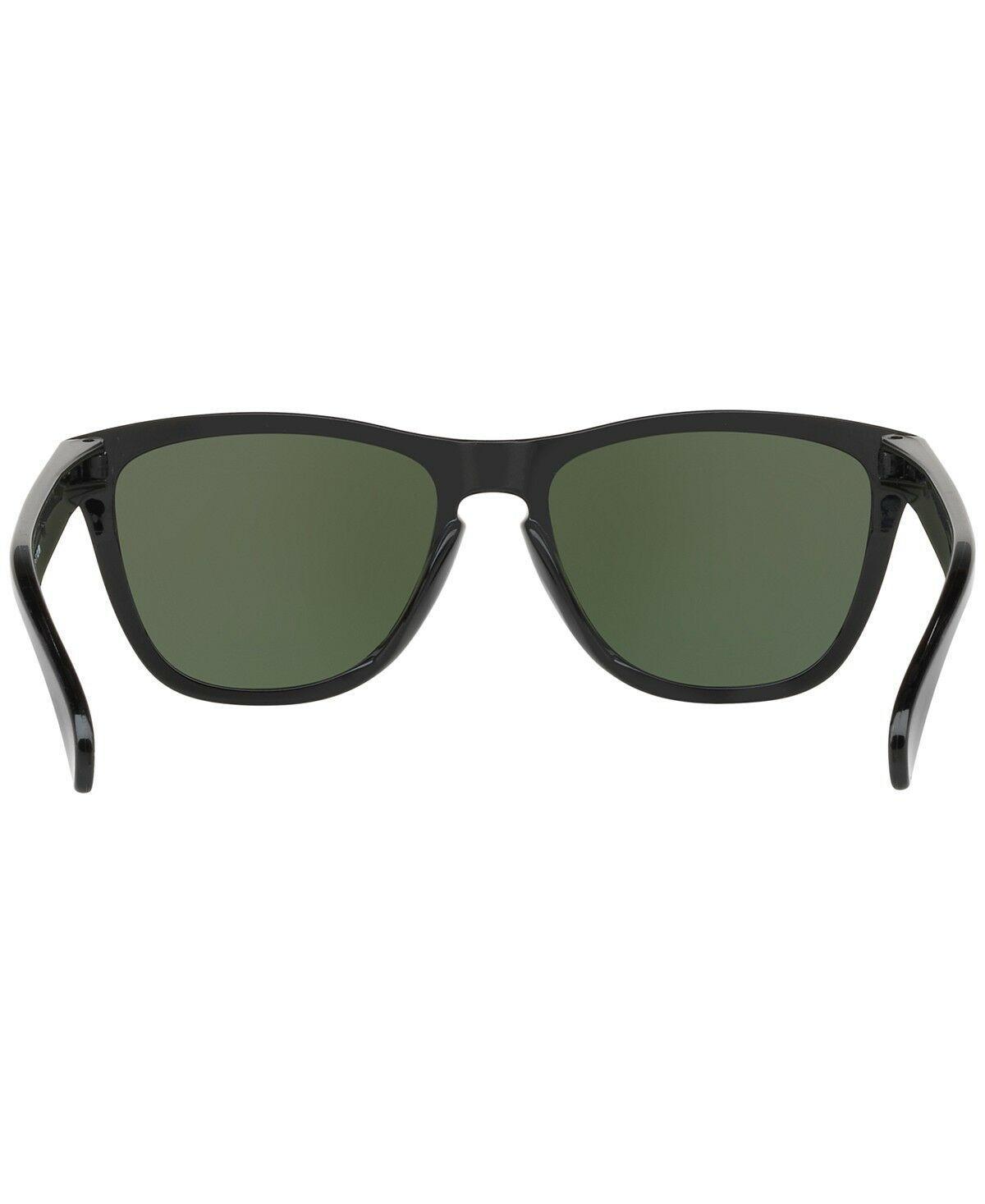 New Authentic Oakley Frogskin Polished Black Prizm Black Iridium [OO9013-C455]