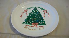 1978 LILLIAN VERNON CHRISTMAS 1978 PORCELAIN PLATE - $29.70