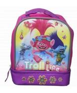 DreamWorks Trolls Diamond Poppy & Branch Troll Life Insulated Lunch Bag ... - $22.50