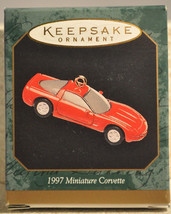 Hallmark 1997 Corvette - 40th Anniversary - Miniature Ornament - $8.64