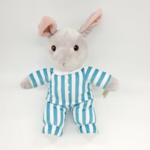 "15"" Kohls Goodnight Moon Bunny Rabbit Striped Pajamas Plush Stuffed Toy B300 - $14.99"