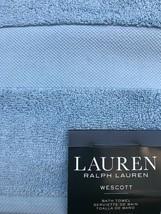Lauren Ralph Lauren Wescott Bath Towel Offshore Blue - $39.99