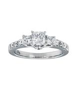 Kay The Leo Engagement Ring 0.54ct Diamond 14k White Gold  - $2,600.00