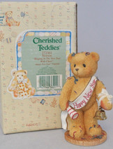 Cherished Teddies - Newton - 272361 - Ringing In The New Year With Cheer - $11.18