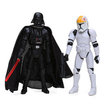 New 10cm CLONE TROOPERS Commander DARTH VADER PVC Action Figure - $6.99