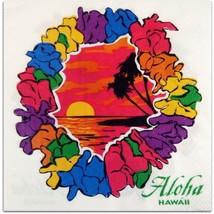 Hawaiian Lei Beverage Napkin Set of 20 - £6.71 GBP