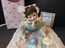 """ASHLEY DRAKE FAMILY PRIDE DOLL PATCHWORK OF LOVE BOXED 12"""" LAYING DOWN - $6.95"""