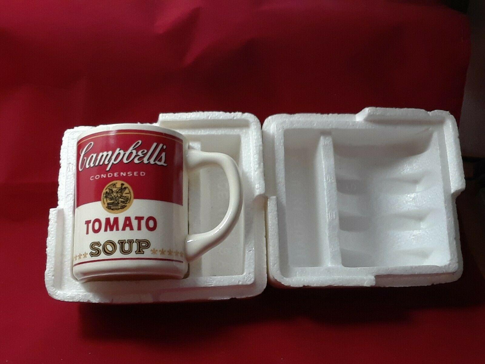 Collectible Campbell's Tomato Soup Mug Cup 8 oz in The Original Styrofoam Mailer