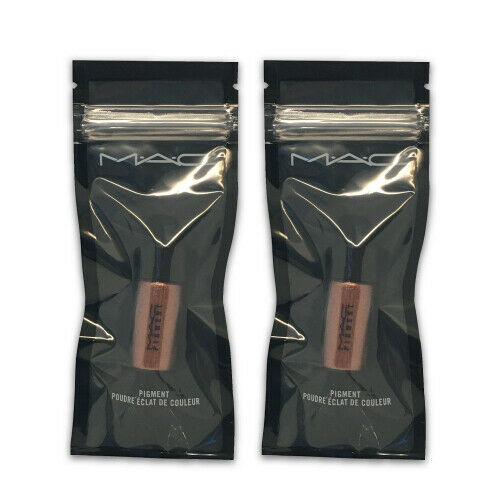 Primary image for MAC Pigment Mini - Copper Sparkle (2.5 g. each) - LOT OF 2