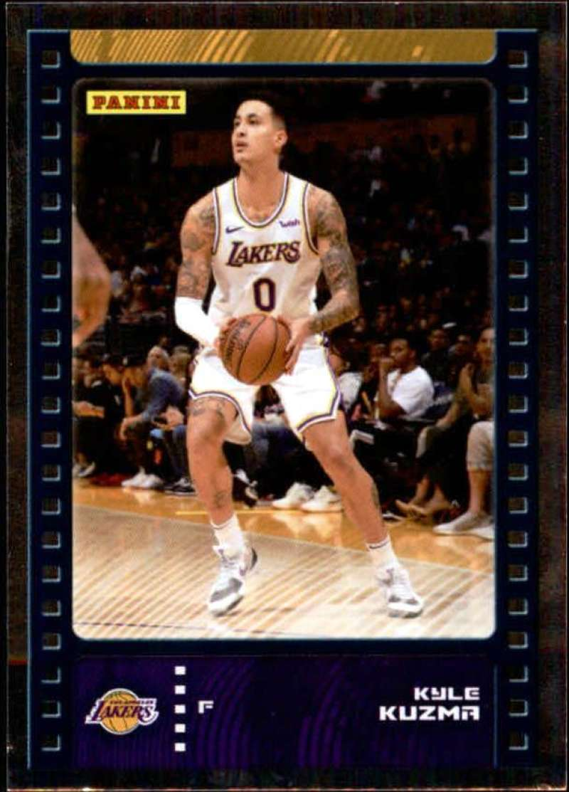 Primary image for 2019-20 Panini NBA Sticker Box Standard Size Silver Foil Insert #76 Kyle Kuzma L