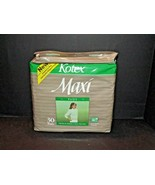 Kotex Maxi Pads Full Size 30 Individually Wrapped Pads Vintage 1986 (g) - $79.19