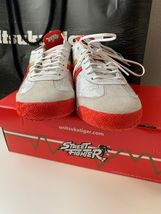 "NIB ASICS Onitsuka Tiger Shoes Sneakers Street Fighter Chun Li Red Size 7.5"" image 7"