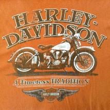 Harley Davidson Bruce Rossmeyers Ft Lauderdale Florida 2012 Orange T Shi... - $17.77