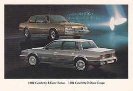 1982 ChevroletCelebrityCoupe & Sedan, Dealer Promo Postcard - $4.99