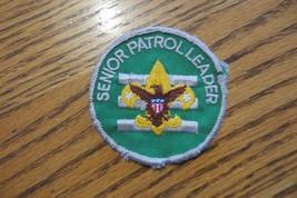 bsa  senior patrol leader boy scouts of america collectible original  patch, NR - $14.25