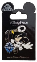 Disney Parks MLS Mickey as Vancouver Whitecaps Soccer Player Trading Pin - £11.66 GBP