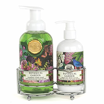 Michel Design Works Foaming Hand Soap and Lotion Caddy Gift Set, Botanical - $42.63