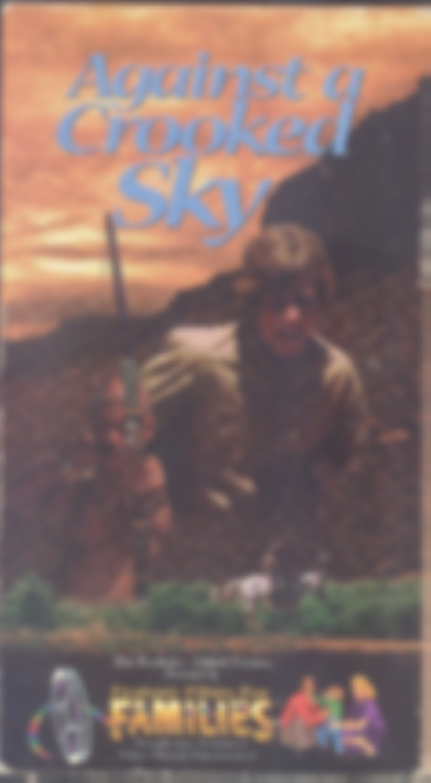 Against A Crooked Sky Vhs