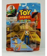 Think Way Toys - Toy Story Woody Quick Draw Action Figure Disney - $14.03