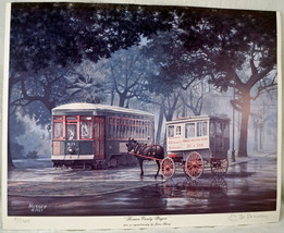 Limited Ed Print Roman Candy Wagon From an original painting by James Hu... - $25.99