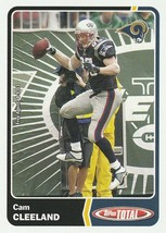 2003 Topps Total #209 Cam Cleeland  - $0.50