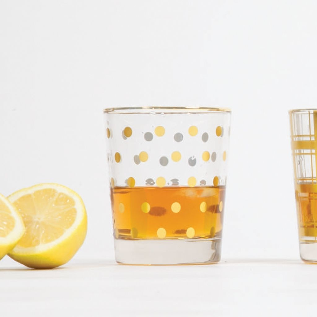Old Fashioned glass Pattern Choice for Cocktails