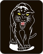 BLACK PANTHER CAT Heavy Weight Warm Soft Queen Size Faux Mink Blanket 79... - $66.95
