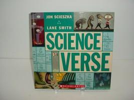 Science Verse Scholastic Jon Scieszka Book - $5.84
