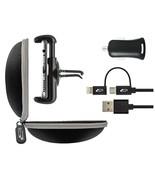 Bracketron Roadtripper Travel Micro-USB / Lightning Car Charger Auto Ven... - $5.00