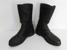 Sidi Gore-Tex All Road Men's Riding Boots Size 10 Made in Italy Black - $153.45