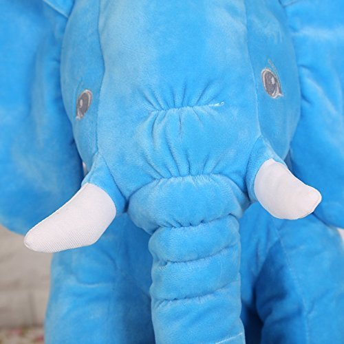 Rainbow Fox Grey Elephant Stuffed Animals Plush Toy Animals Toys Blue image 4
