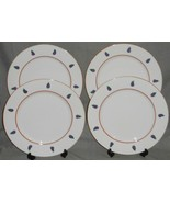 Set (4) Rauschert CULINARY EDITIONS Eggplant Motif CHARGERS or CHOP PLATES - $49.49