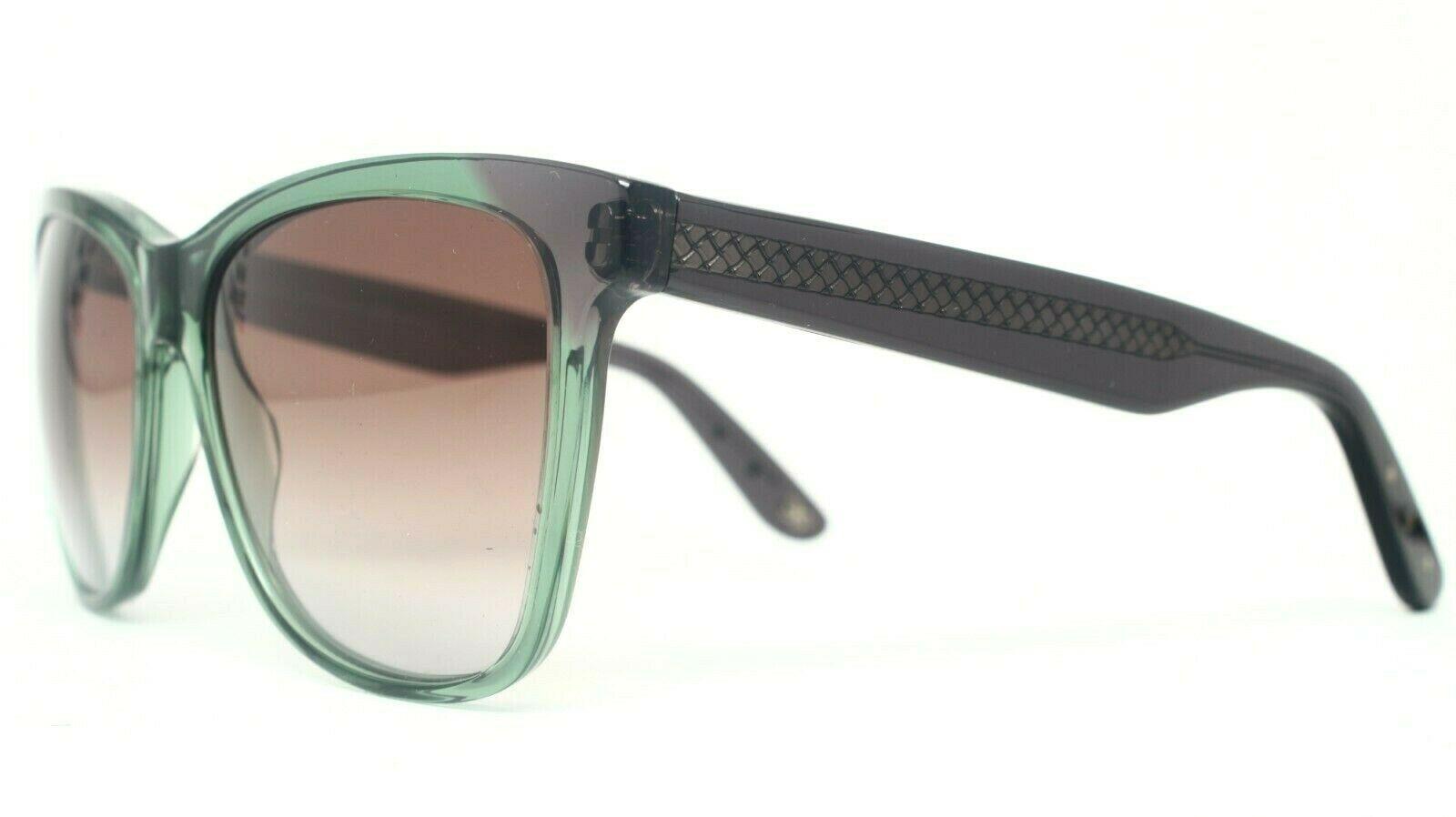 New Bottega Veneta BV 265S 4CR 5M Transparent Green Sunglasses 55-16-140 - $94.80