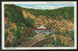 Colorado Entrance to the Cave of the Wind Manitou CO Vintage Sanborn Pos... - $3.99
