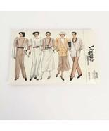 Vogue 9199 Wardrobe Size 8 10 12 Vintage 80s Padded Sewing Pattern Uncut - $16.99